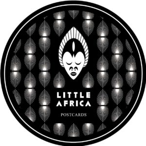 stickers-postcards little africa
